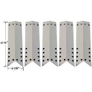 STAINLESS HEAT SHIELD FOR KENMORE 122.16648900, 16648, 720-0650A, 640-82960819-9, 720-0430 (5-PK) GAS MODELS