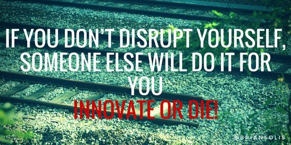 disrupt yourself before someone else does - Google zoeken