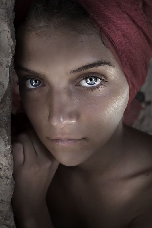 Girl from Afghanistan
