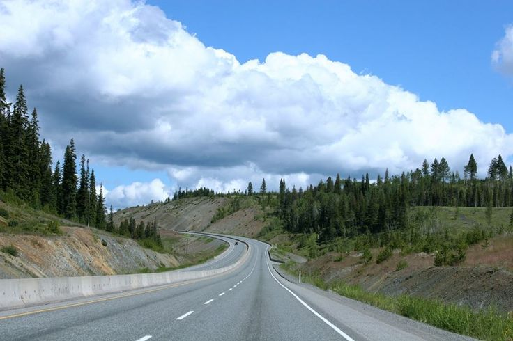 The Coquihalla Highway up towards the interior of BC is full of interesting exits.  Why not grab your tent and go on an adventure!