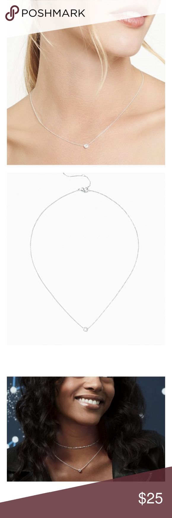 Stella and Dot Wishing Necklace Brand New in box Wishing Necklace from Stella & Dot featured in silver. Necklace is from their brand new spring line and still on their website for $34. Stella & Dot Jewelry Necklaces