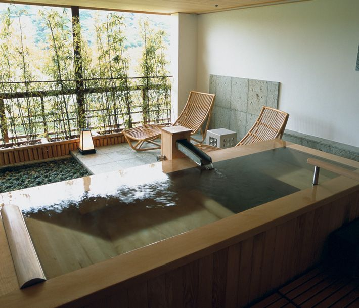 強羅花壇、旅館、温泉、箱根