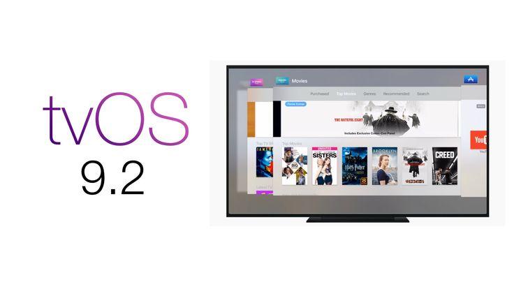 Apple TV Update tvOS 9.2: New App Switcher,  iCloud Photo Library, Bluet...