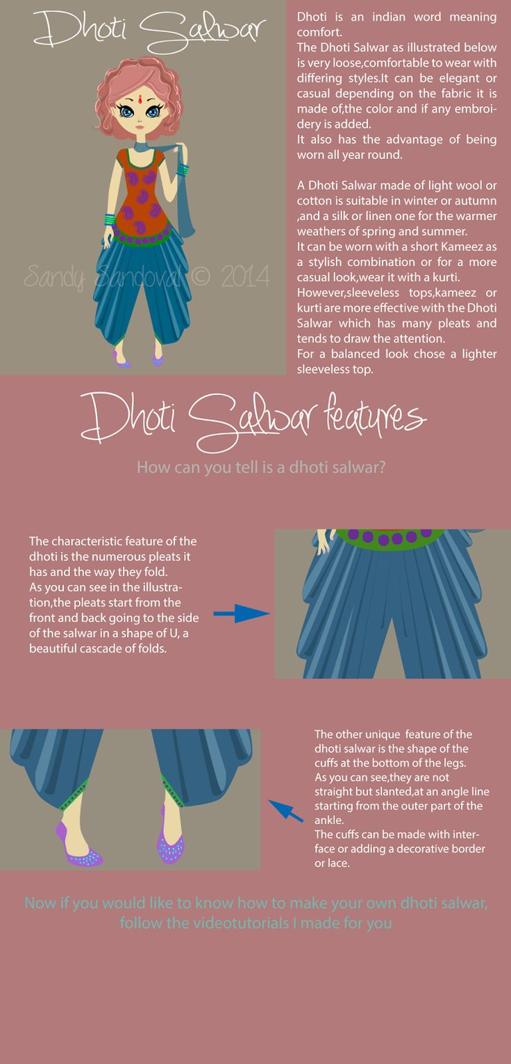 Cloud Factory: Dhoti Salwar