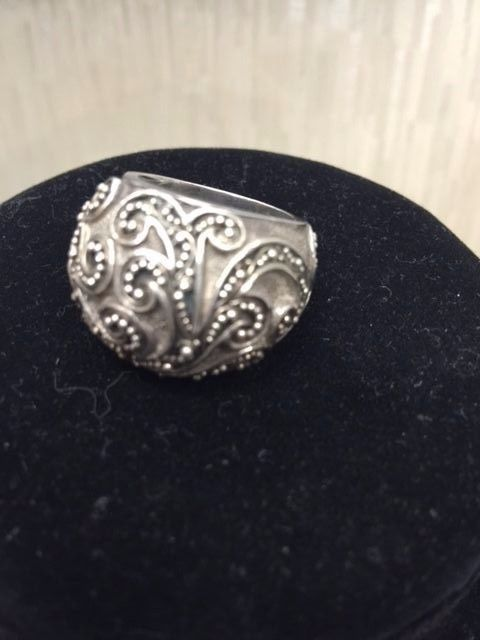 LOIS HILL .925 Sterling Silver Scrolled Ring #LoisHill