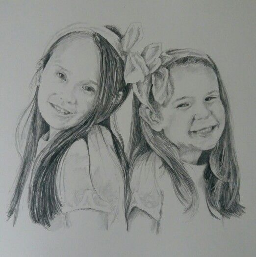 Lara and sadie by Joanne Gross