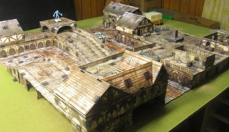Modular Buildings Warhammer  Designs