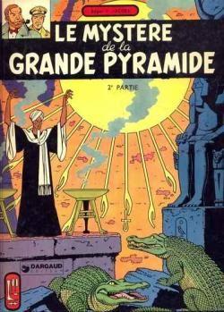 Blake et Mortimer, tome 5 : Le Mystère de la Grande Pyramide, Deuxième Partie par Edgar Pierre Jacobs