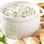 Secretly Healthy Spinach Dip for Parties