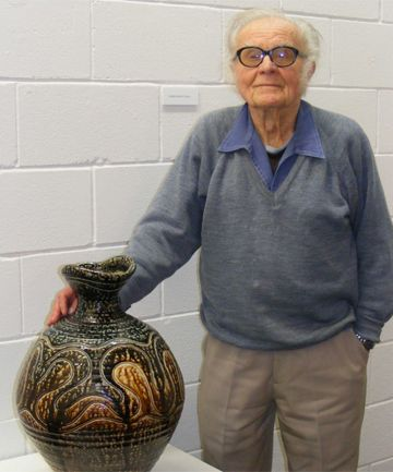 Miroslav (Mirek) Smisek, potter: b Dobra, Czechoslovakia, February 2, 1925; m Nona Whitbread (diss), 2s; partner to Jane Beverly, 1d; m Pame... - who worked 8 months on  creating the pottery for the Lord of the Rings trilogy.