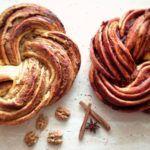 Skořicový a ořechový kringel | Prudce Jedlé