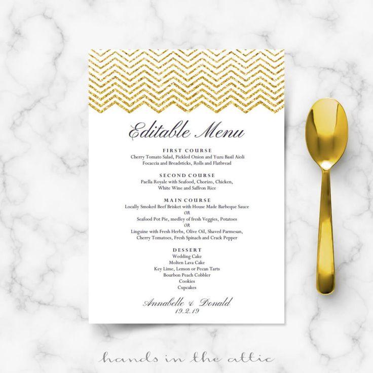 68 best Wedding Menu Cards images on Pinterest Brunch menu - sample wine menu template