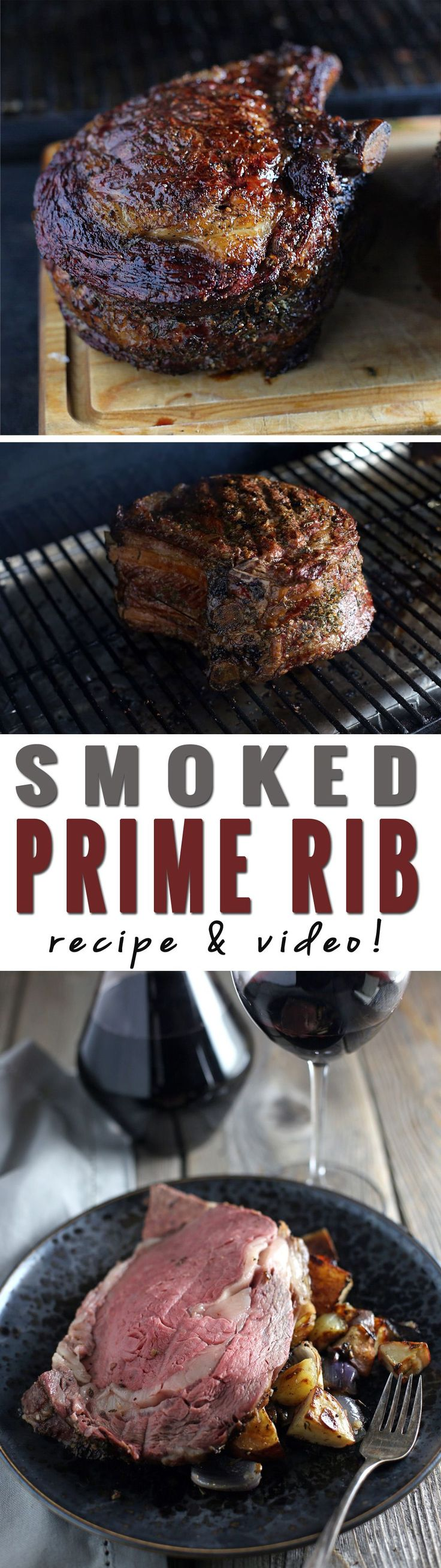 How to Smoke a Prime Rib. Recipe and Video! BBQ Project Idea Project Difficulty: Simple MaritimeVintage.com