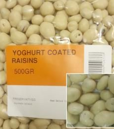 #Yoghurt Coated Raisins. Only from Nuts About You