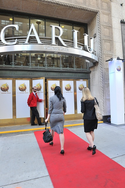 Red carpet walk-in to the Randstad Award