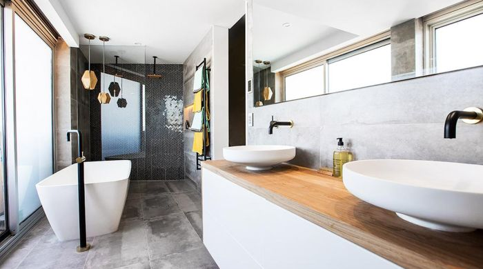 The Block Octagon: Bathroom reveal