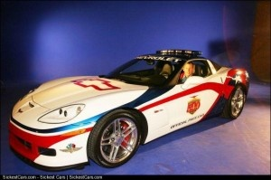 2006 Chevrolet Corvette Z06 Pace Car Will be Driven by Lance Armstrong - http://sickestcars.com/2013/05/30/2006-chevrolet-corvette-z06-pace-car-will-be-driven-by-lance-armstrong/