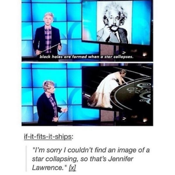 Ellen DeGeneres is hilarious