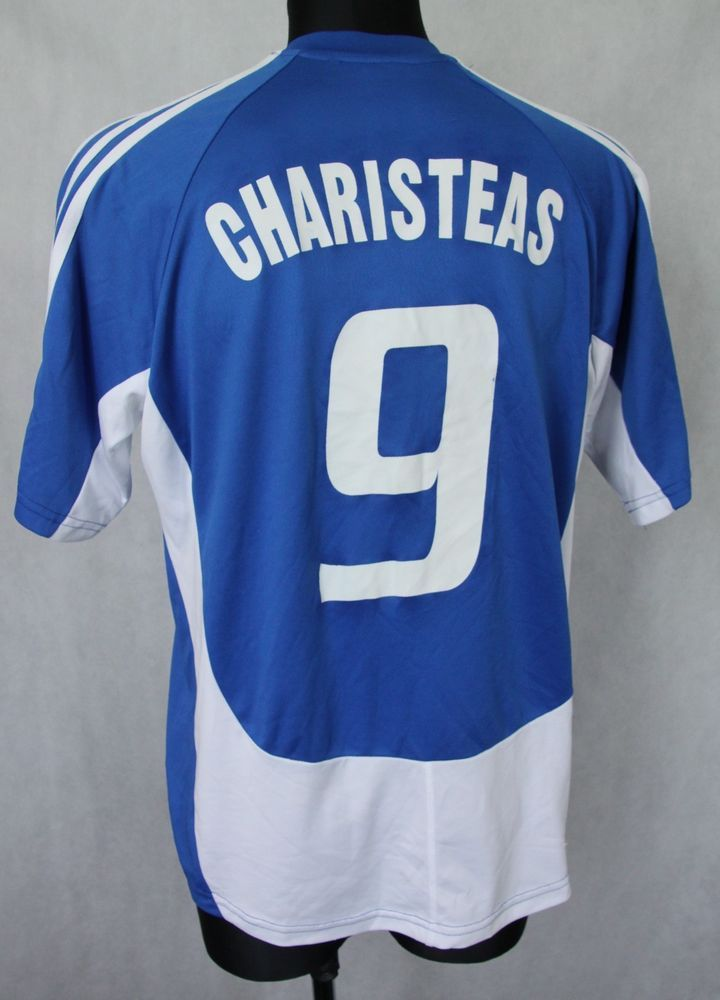 new style aa900 ed805 GREECE NATIONAL TEAM 2004/2005 #9 ANGELOS CHARISTEAS HOME ...