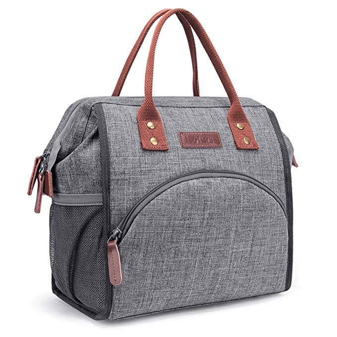 Lunch Box School Office Picnic Insulated Thermal Cooler Zip Tote Cool Bag HOT