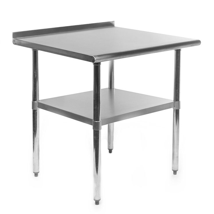 Kitchen Stainless Steel Work Table 36 X 24 Inches Prep For Commercial
