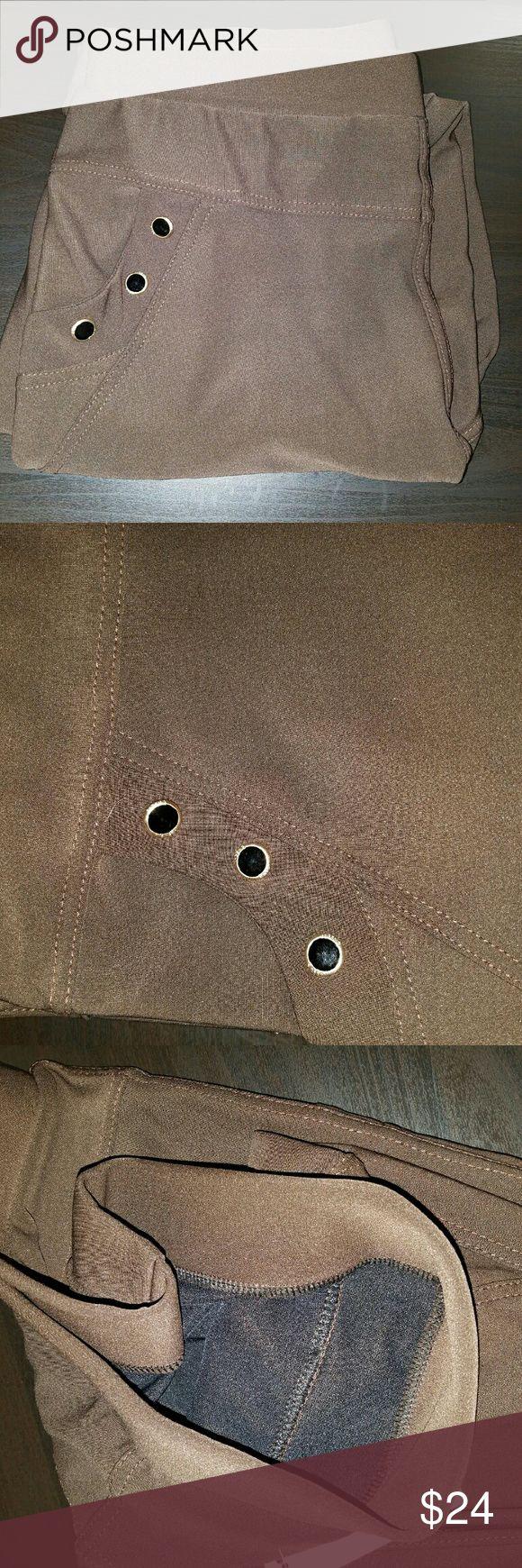 Plus size brown joggers pants 1x 2x 3x Plus size stretch joggers 1x 2x 3x pants Pants Track Pants & Joggers