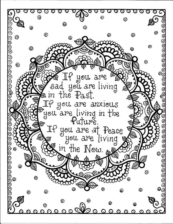 Printable Coloring Pages For Adults With Quotes : 83 best quote coloring images on pinterest