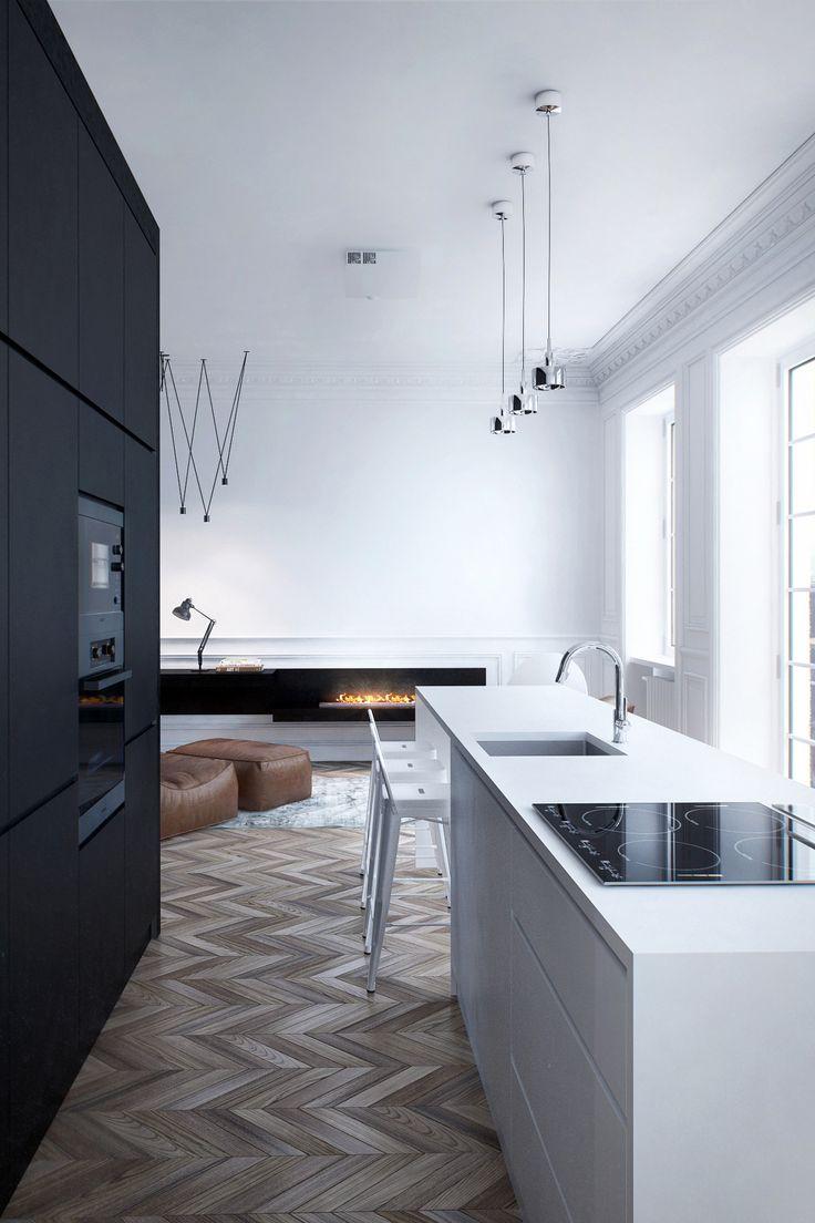 112 best Kitchens images on Pinterest | Kitchen modern, Kitchens and ...