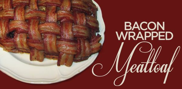 Bacon Wrapped Meatloaf Recipe!: Food Recipes, Food Awesome, Meatloaf Recipes, Food Drinks