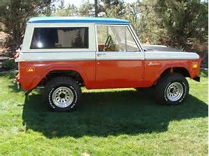 Image result for 1971 bronco