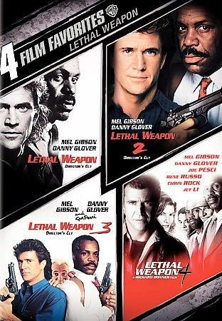 The first four films in the LETHAL WEAPON series are presented on this entry into the 4 Film Favorites series. Each movie is presented as a fully unedited director's cut.