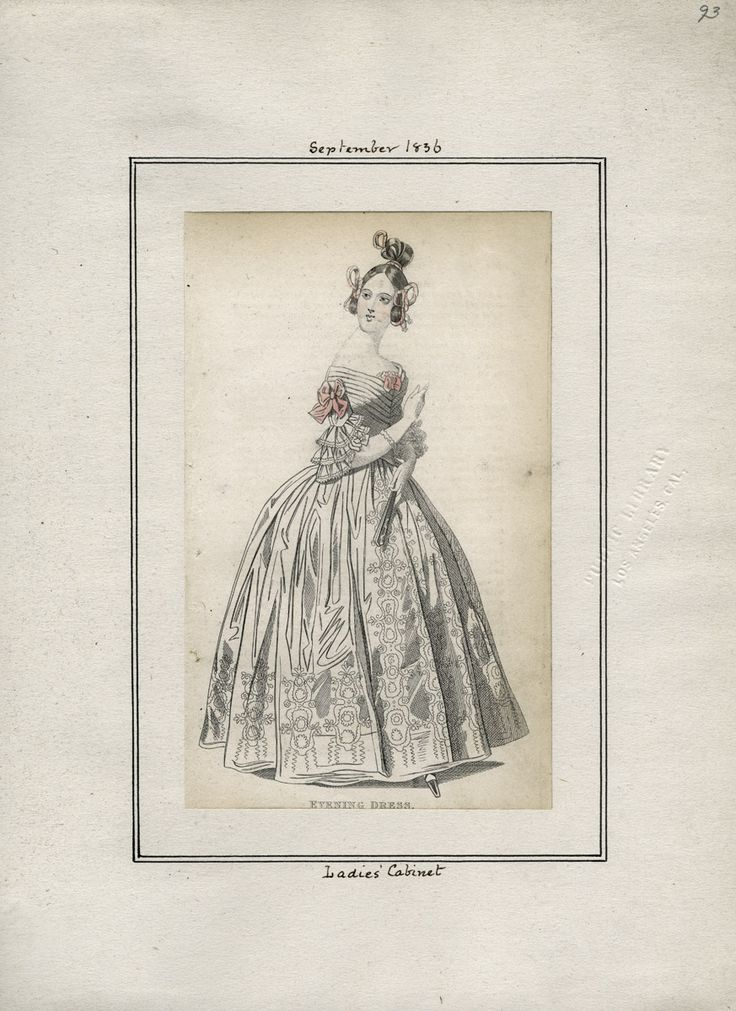 Ladies' Cabinet September 1836 LAPL