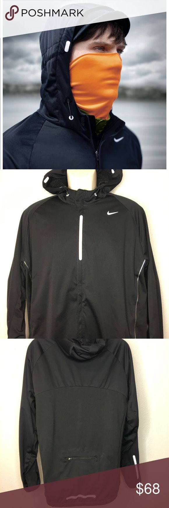 Nike Element Shield Max Running Jacket + Face Mask Awesome ...