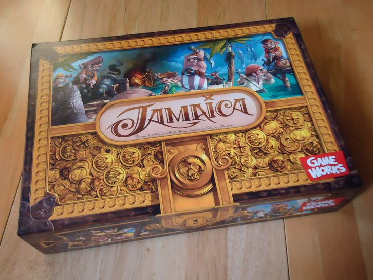 Jamaica Board Game Review by Jennifer
