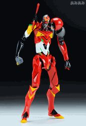 Evangelion 3.0 : Eva Unit 02  Kai Type-02 Gamma  Revoltech Action Figure