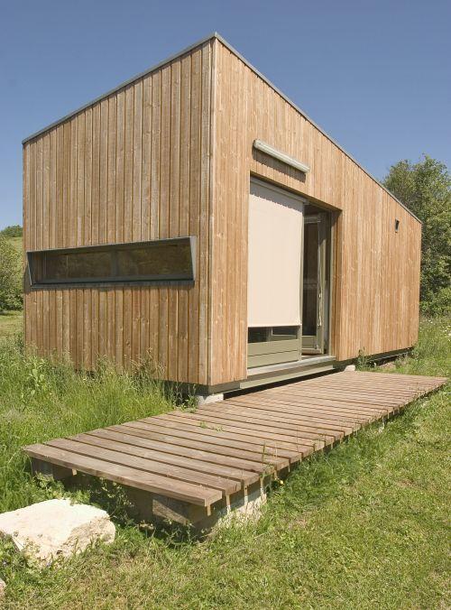 10 best Réalisations Greenkub images on Pinterest Garden studio - extension maison bois 20m2