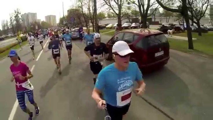 8 Półmaraton Poznań 12.04.2015r - Halfmarathon Poznan Poland