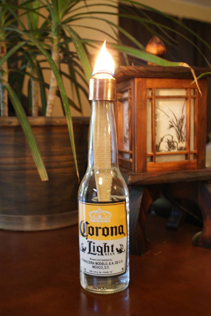 Indoor Custom Copper Wine Bottle Beer Bottle Wick Tip