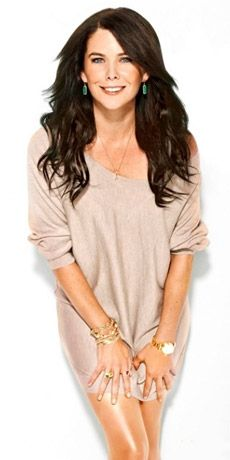 Seriously put Lauren Graham in a TV show, movie or play and I will watch it. Favorite actress! I love her humor.