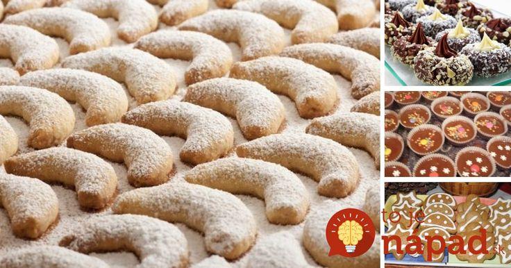 Zbierka 19 najlepších receptov na pečené aj nepečené vianočné dobroty!