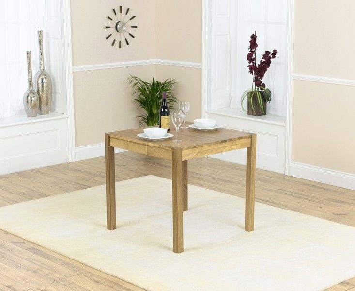 Purton 80cm Square Solid Oak Dining Table  A piece of genuine high quality, the table is crafted from strong oak and attributes a smooth table leading having a contemporary finger jointed style and sophisticated legs.  https://www.bonsoni.com/purton-80cm-square-solid-oak-dining-table
