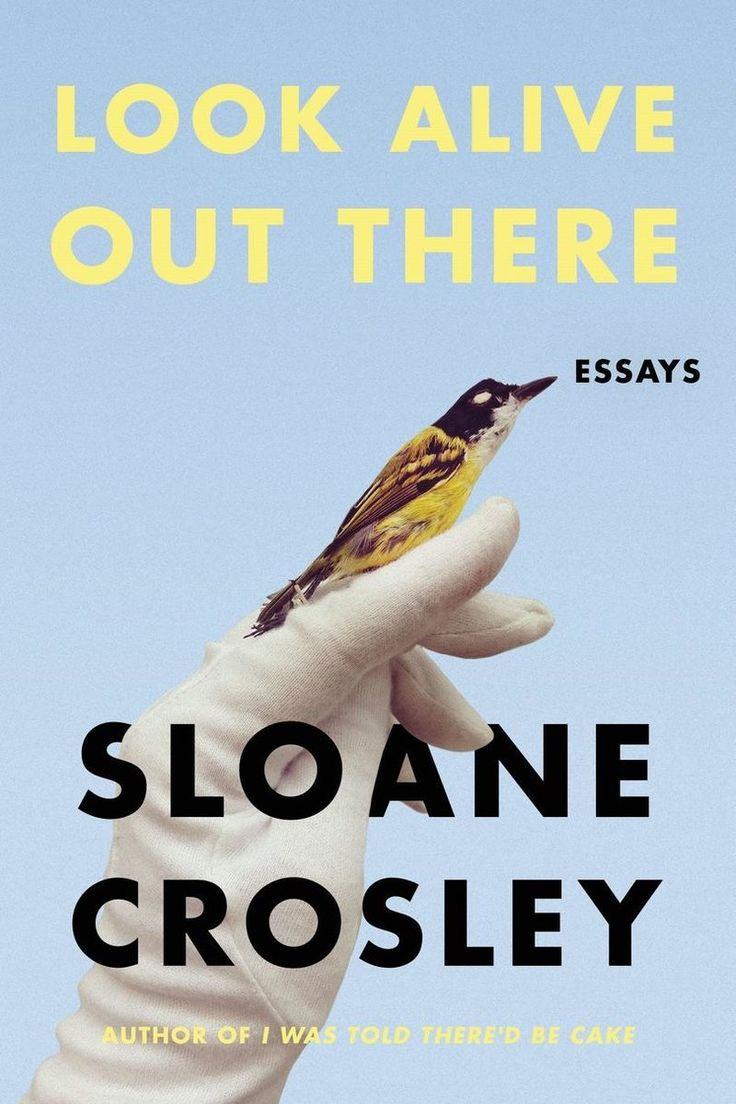 Our Bookshelves Can't Wait for These Spring 2018 Releases: Look Alive Out There: Essays by Sloane Crosley