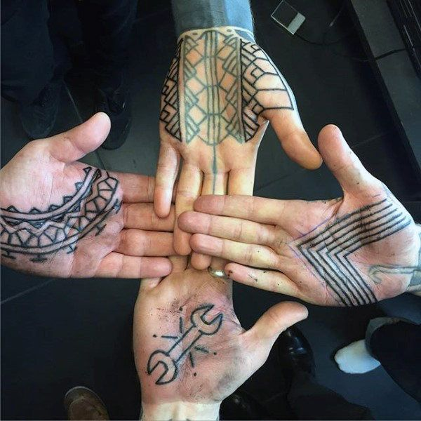 100 Palm Tattoo Designs For Men Inner Hand Ink Ideas Palm Tattoos Tattoo Designs Men Tattoos