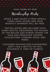 Direct Cellars Wine Club Perks!
