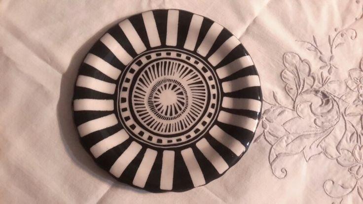 Another black straffigo side plate of mine