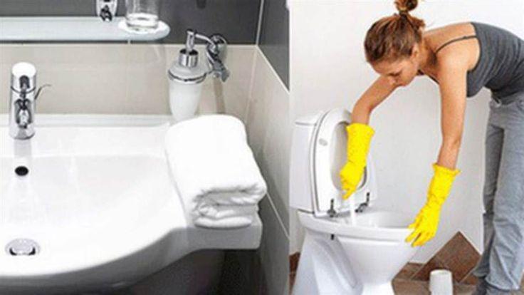 Du ska få oväntade gäster och inser att du inte hunnit städa. Lugn, det viktigaste är badrummet, så satsa alla kort på det. Här ger vi dig tricksen till ett skinande badrum på mindre än en kvart!