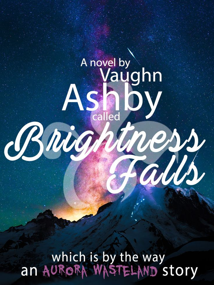 Current working version of Brightness Fall's book cover  #AuroraWasteland #Books #Horror #SciFi #Writing #AmWriting #BrightnessFalls