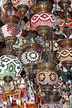 lamparas turcas - Buscar con Google