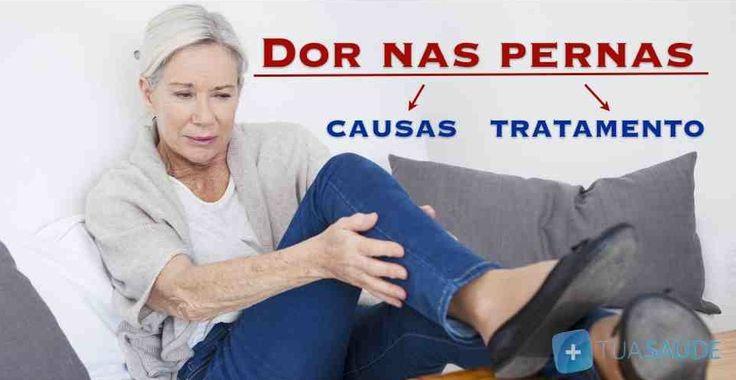 Conheça as causas e como tratar a dor nas pernas