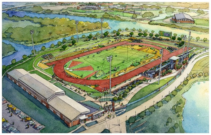 The new home for Baylor track and field, coming spring